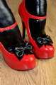 Latex Shoe bow's